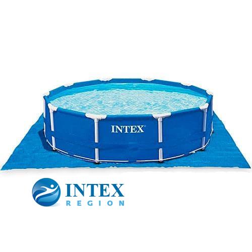 Подстилка Intex 28049 под бассейны 565х565 см