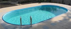 Сборный бассейн Summer Fun 4501010256KB овальный 600х320х150 см