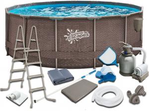Каркасный бассейн SummerEscapes Р20-1352-S 396x132 Metal Frame