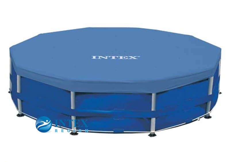 Тент-покрывало Intex 28032 для круглых каркасных бассейнов 457 см