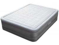 64474 Надувная кровать PremAire 152х203х46см, встроенный насос 220V