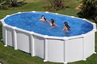 Каркасный бассейн GRE KITPR6188MAG овальный 610x375x132 см