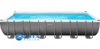 Каркасный бассейн Intex 26364-01 732х366х132 Rectangular Ultra XTR Frame