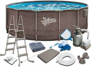 Каркасный бассейн SummerEscapes P20-1252-S 366x132 Metal Frame