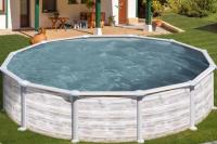 Каркасный бассейн GRE KITPR458NMAG круглый 460x132 см