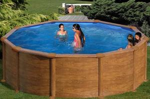 Каркасный бассейн GRE KITPR358WO круглый 350x132 см