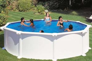 Каркасный бассейн GRE KITPR458MAG круглый 460х132 см