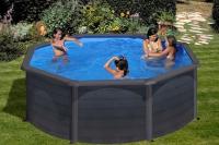 Круглый каркасный бассейн 350х132 см GRE PR358GFMAG