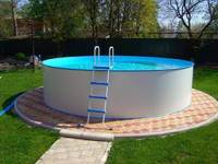 Сборный бассейн ЛАГУНА 30515 круглый 305х125 см (белый)