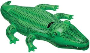 Надувная игрушка Крокодил с ручкой Intex арт.58546 168х86см, от 3 лет