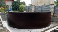 Сборный бассейн ЛАГУНА 73211 круглый 732х125 см (шоколад)