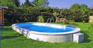 Сборный бассейн Summer Fun 4501010244KB овальный 800х420х120 см