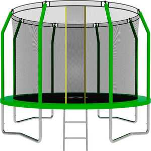 Батут SWOLLEN Comfort 12 FT (Green) диаметр 366 см